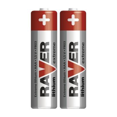 Lithiová baterie RAVER AAA (FR03)