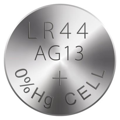 Alkalická knoflíková baterie RAVER A76F (LR44)