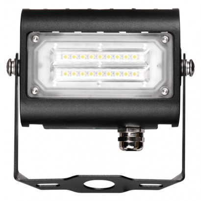 LED reflektor PROFI PLUS černý, 15W neutrální bílá