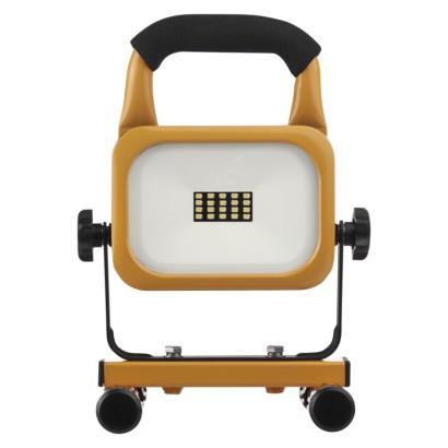 LED reflektor AKU nabíjecí přenosný, 10 W studená bílá