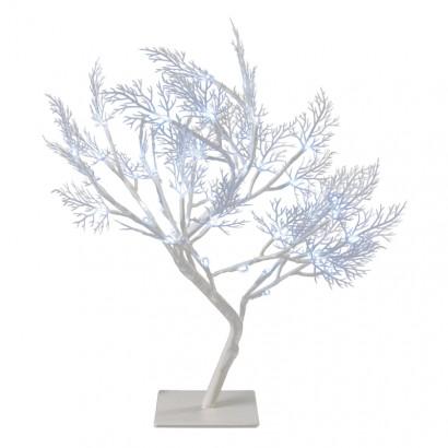 LED vánoční stromek, 40cm, vnitřní, studená bílá, časovač