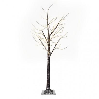 LED vánoční stromek, 120cm, venkovní, teplá bílá, časovač
