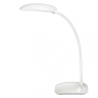 LED stolní lampa MA66-D s USB, bílá