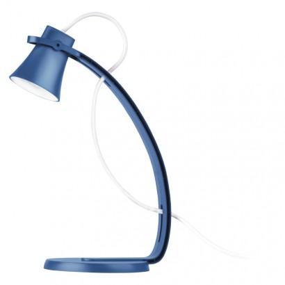 LED stolní lampa GEORGE, modrá