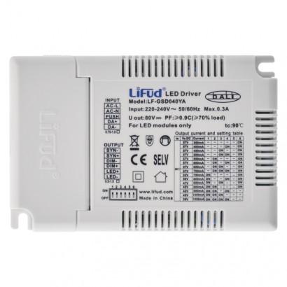 Multifunkční e×terní driver pro LED panely