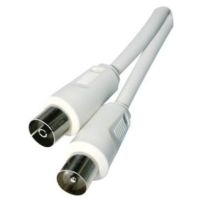 Anténní koaxiální kabel stíněný 2,5m - rovné vidlice