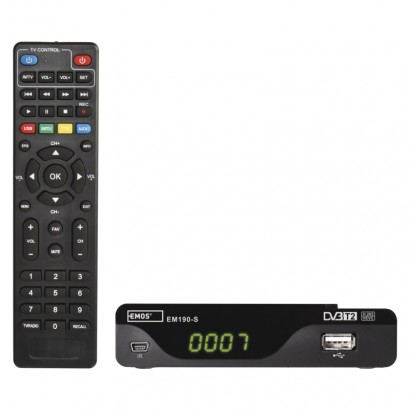 Set-top box EMOS EM190-S HD HEVC H265 (DVB-T2)