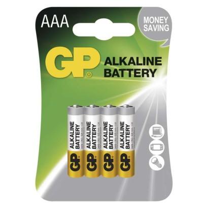 Alkalická baterie GP Alkaline AAA (LR03)