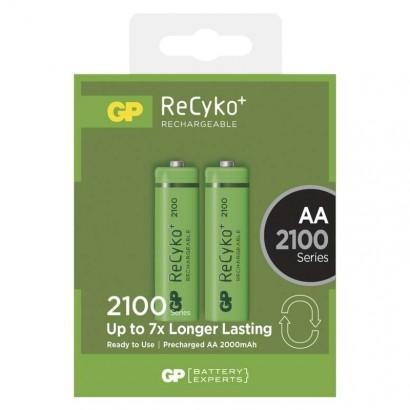 Nabíjecí baterie GP ReCyko+ 2100 (AA)