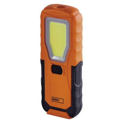 COB LED + LED pracovné svietidlo P4110, 280 lm, 4× AA