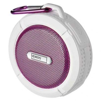 Bluetooth reproduktor EMOS FREESTYLER, růžový