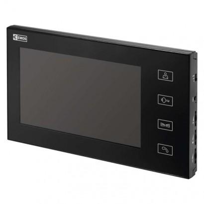 Monitor videotelefonu EMOS RL-10, černý