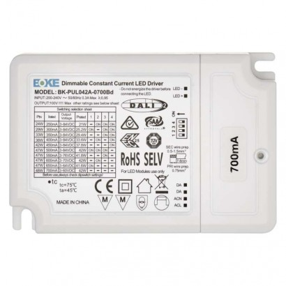DALI Driver pro LED svítidla CC 700mA 40W