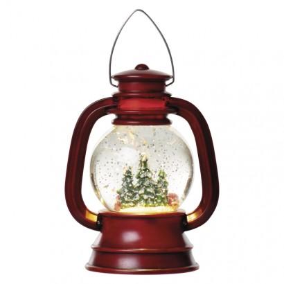 LED lucerna 20x11cm, 3x AA, vnitřní, teplá bílá