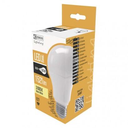 LED žárovka Basic A70 14W E27 teplá bílá
