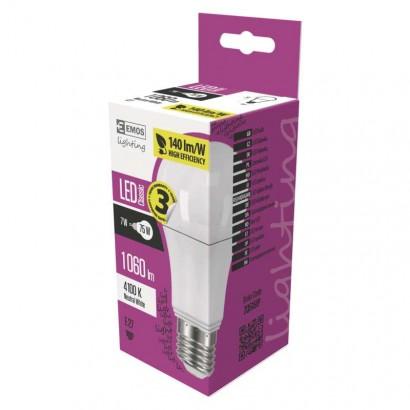 LED žárovka Classic A60 7,5W E27 neutrální bílá
