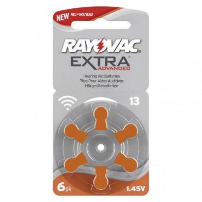 Baterie do naslouchadel RAYOVAC H13MF, blistr