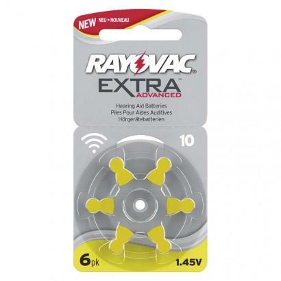 Baterie do naslouchadel RAYOVAC H10MF, blistr