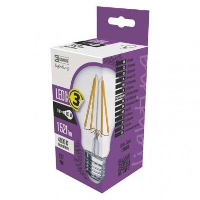 LED žárovka Filament A60 A++ 11W E27 neutrální bílá