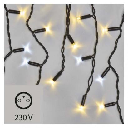 Profi LED spoj. řetěz problikávající – rampouchy 3m,t/s bílá