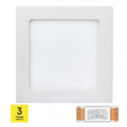 LED panel TRIAK 170×170, čtvercový přisazený bílý, 12W n. b.
