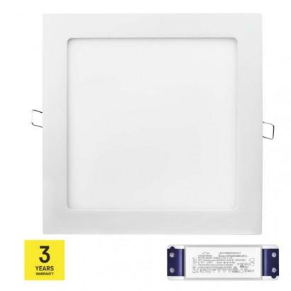 LED panel TRIAK 220×220, čtvercový vestavný bílý, 18W n. b.