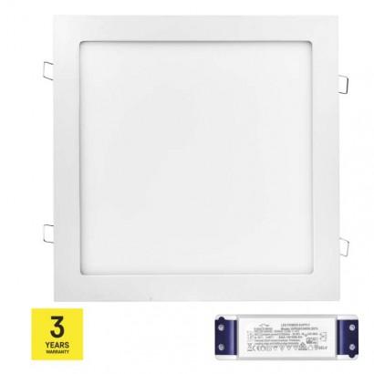 LED panel TRIAK 300×300, čtvercový vestavný bílý, 24W n. b.