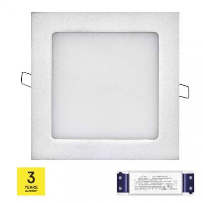 LED panel TRIAK 225×225, čtvercový vestavný stř., 18W n.b.