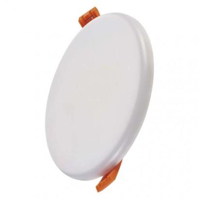 LED panel 125mm, kruhový vestavný bílý, 11 W teplá b., IP65