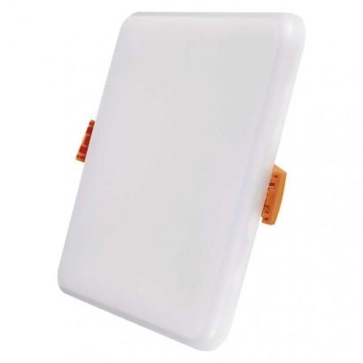 LED panel 125×125, čtvercový vestavný bílý, 11 W tep.b.,IP65