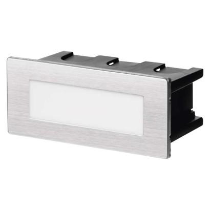 LED orientační vestavné svítidlo 123×53 1,5W neutr.bílá,IP65