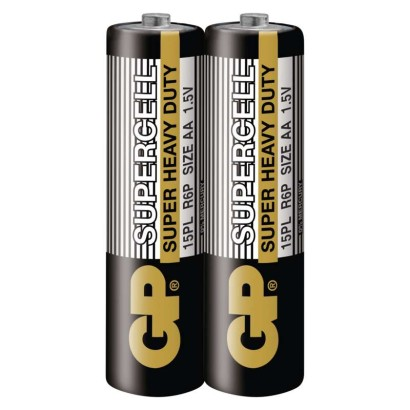 Zinková baterie GP Supercell AA (R6)