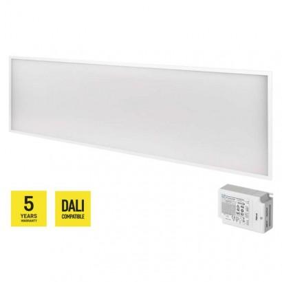 LED panel DALI 30×120, obdélníkový vestavný b., 40W n.b. UGR