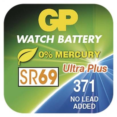 Knoflíková baterie do hodinek GP 371F (SR69, SR921)
