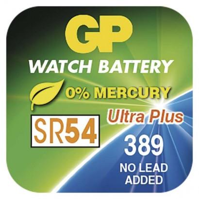 Knoflíková baterie do hodinek GP 389 (SR54, SR1130)