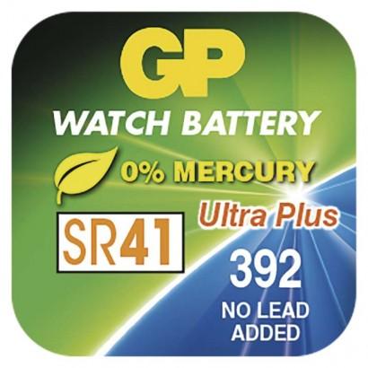 Knoflíková baterie do hodinek GP 392F (SR41, SR736)