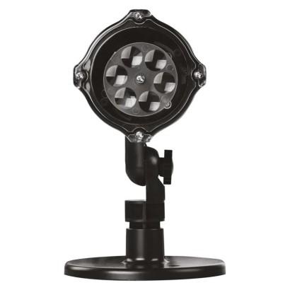 LED dekorativní projektor – vločky, venkovní i vnitřní, studená bílá
