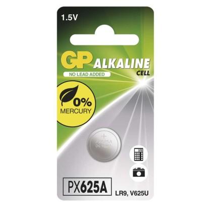 Alkalická knoflíková baterie GP 625A (LR9)