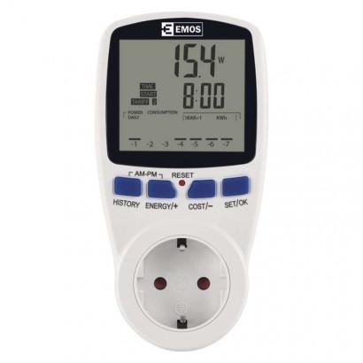 Wattmetr SCHUKO (měřič spotřeby energie) P5821