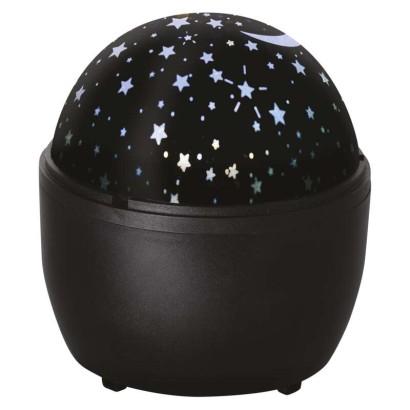 LED dekorativní projektor – hvězdy, 3x AA, vnitřní