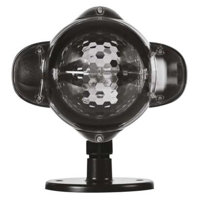 LED dekorativní projektor – hvězdičky, venkovní i vnitřní, teplá/studená bílá