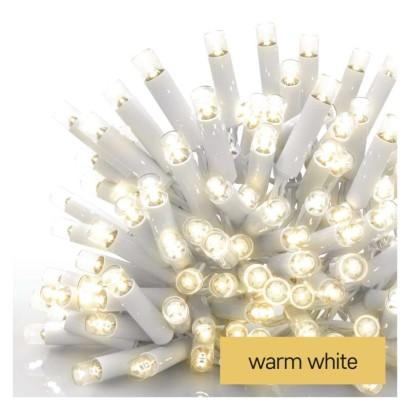 Profi LED spojovací řetěz bílý – rampouchy, 3 m, venkovní, teplá bílá