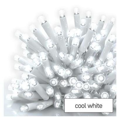Profi LED spojovací řetěz bílý, 10 m, venkovní i vnitřní, studená bílá