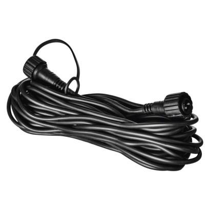 Prodlužovací kabel pro spojovací řetězy Profi černý, 10 m, venkovní i vnitřní