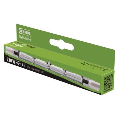 Lineární halogenová žárovka J118 230W R7s teplá bílá